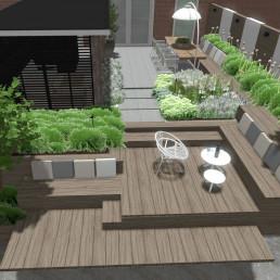 Biesot 3D tuinontwerp vijfhuizen hoofddorp haarlem