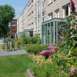 Biesot groenvoorziening tuin woningbouw vve vijfhuizen hoofddorp haarlem borders
