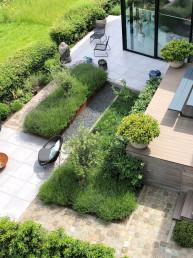 Biesot tuinontwerp tuinaanleg vijfhuizen hoofddorp haarlem diverse niveaus