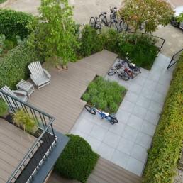 Biesot tuinontwerp en tuinaanleg stadstuin Amsterdam