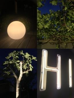 Met mooie subtiele buitenverlichting wordt de tuin een verlengstuk van jouw huis