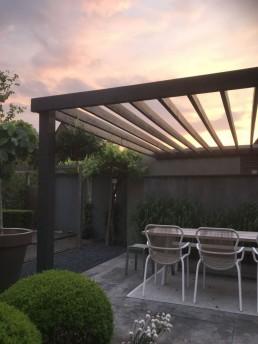 Uniek tuinontwerp voor mooie avonden